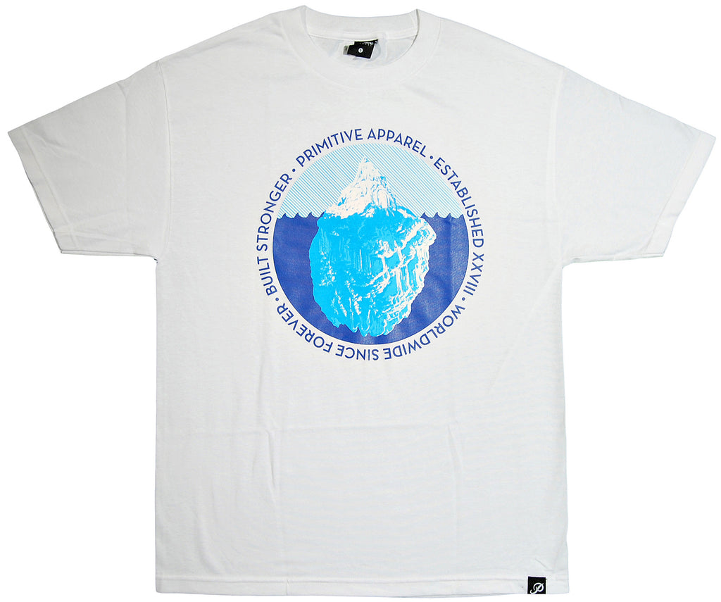<!--2013102215-->Primitive - 'Iceberg Seal' [(White) T-Shirt]