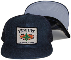 <!--020131022060539-->Primitive - 'Native Mesh' [(Dark Blue) Snap Back Hat]