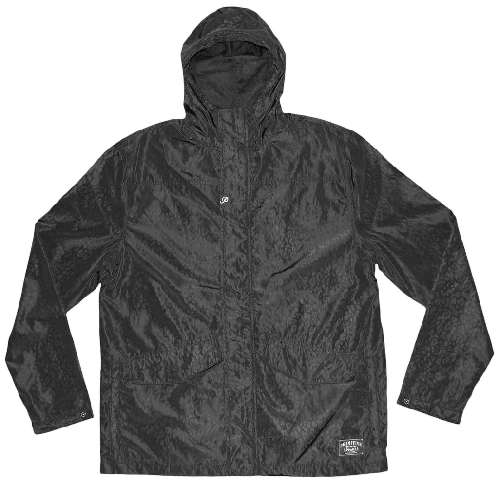 <!--2013082046-->Primitive - 'Wildlife Windbreaker' [(Black) Jacket]