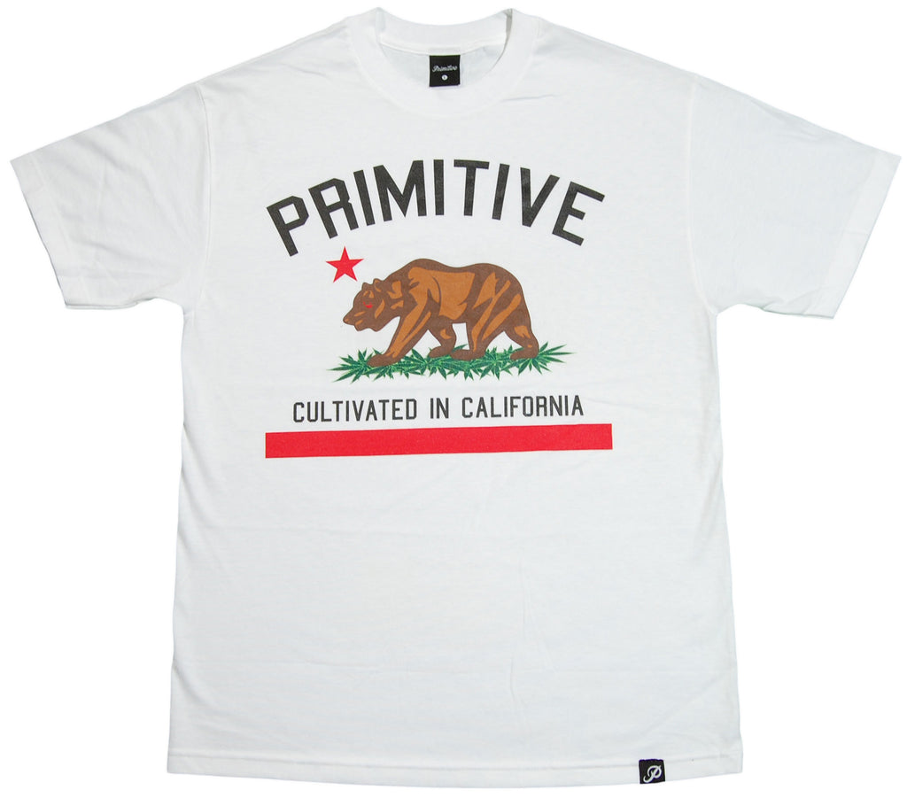 <!--2012011054-->Primitive - 'Cultivated' [(White) T-Shirt]