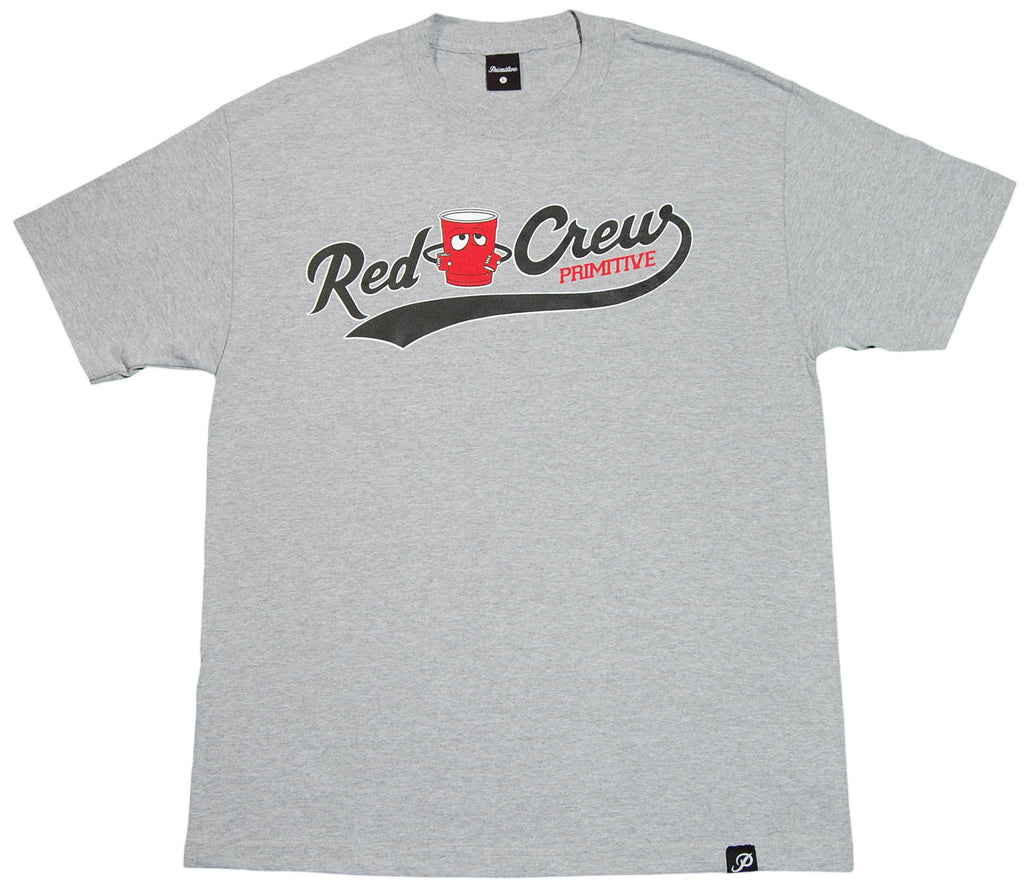 Primitive - 'Red Cup Crew' [(Gray) T-Shirt]