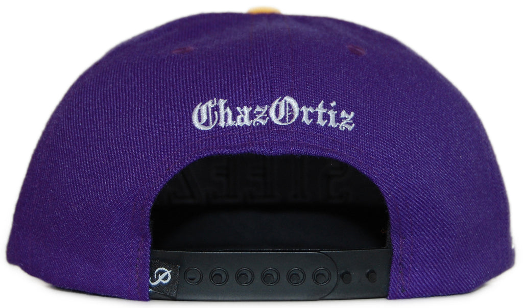 <!--020120110039858-->Primitive x Chaz Ortiz - 'Steez' [(Purple) Snap Back Hat]
