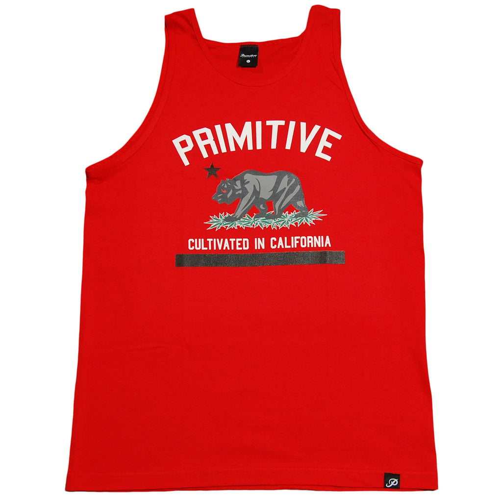 <!--2013031203-->Primitive - 'Cultivated' [(Red) Tank Top]