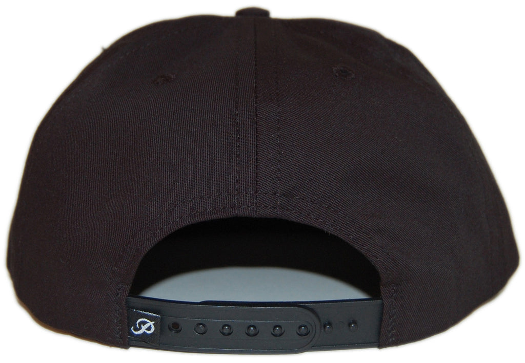 <!--020130312054577-->Primitive - 'Crooked - Tigerstripe' [(Black) Snap Back Hat]