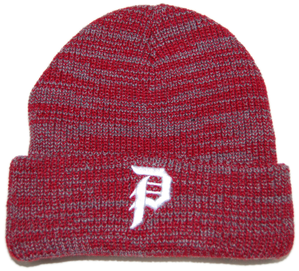 <!--020130312054573-->Primitive - 'Dirty P' [(Red) Winter Beanie Hat]