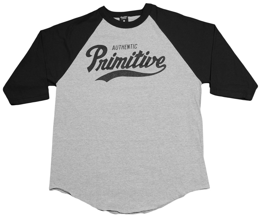 <!--2013031222-->Primitive - 'Dugout - Black' [(Gray) T-Shirt]
