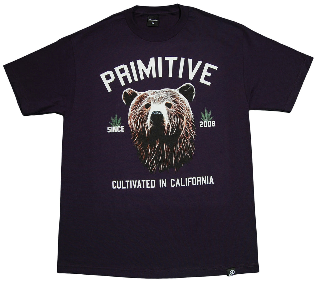 <!--2013031233-->Primitive - 'Golden Bear' [(Dark Blue) T-Shirt]