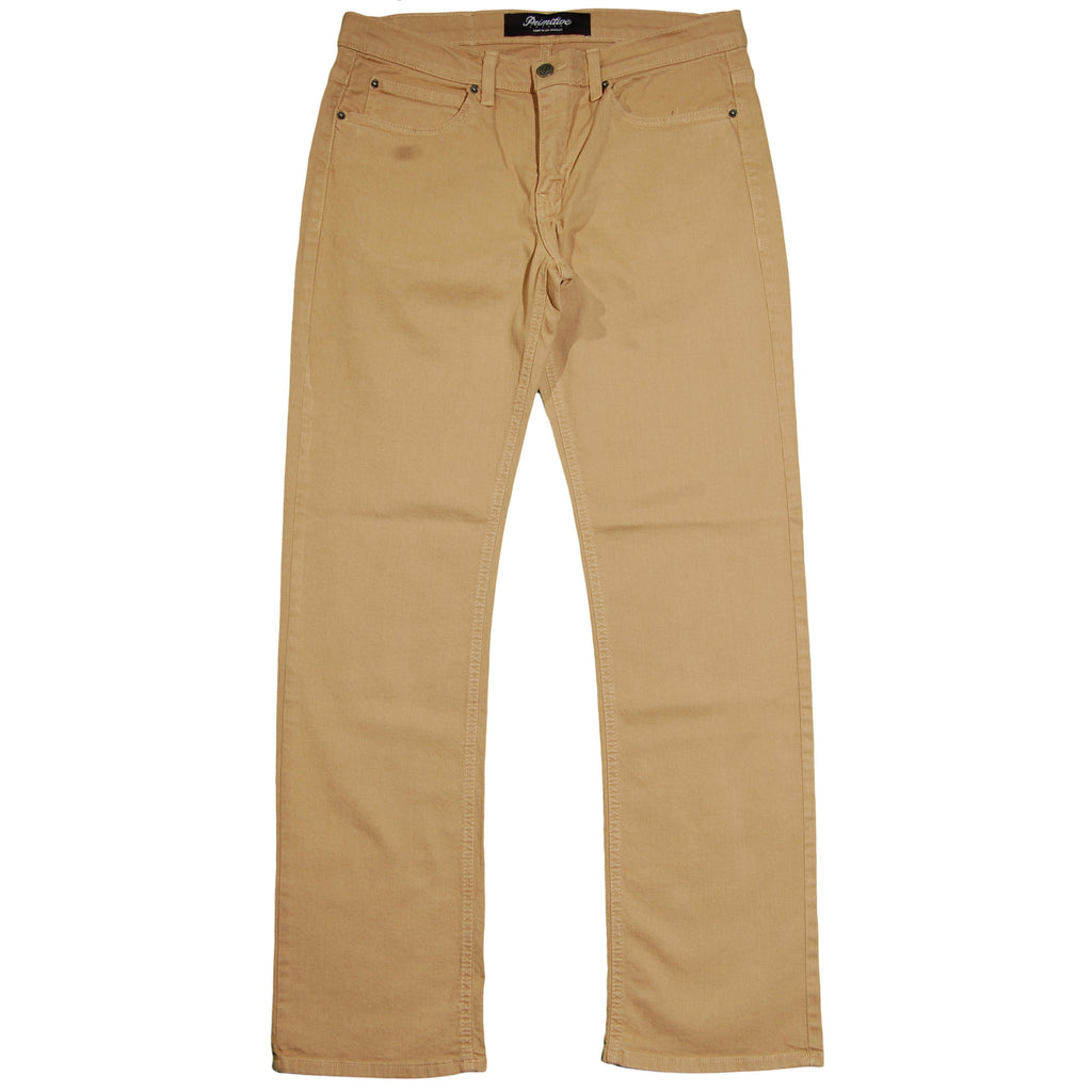<!--2013031250-->Primitive - 'Quality Goods' [(Light Brown) Pants]
