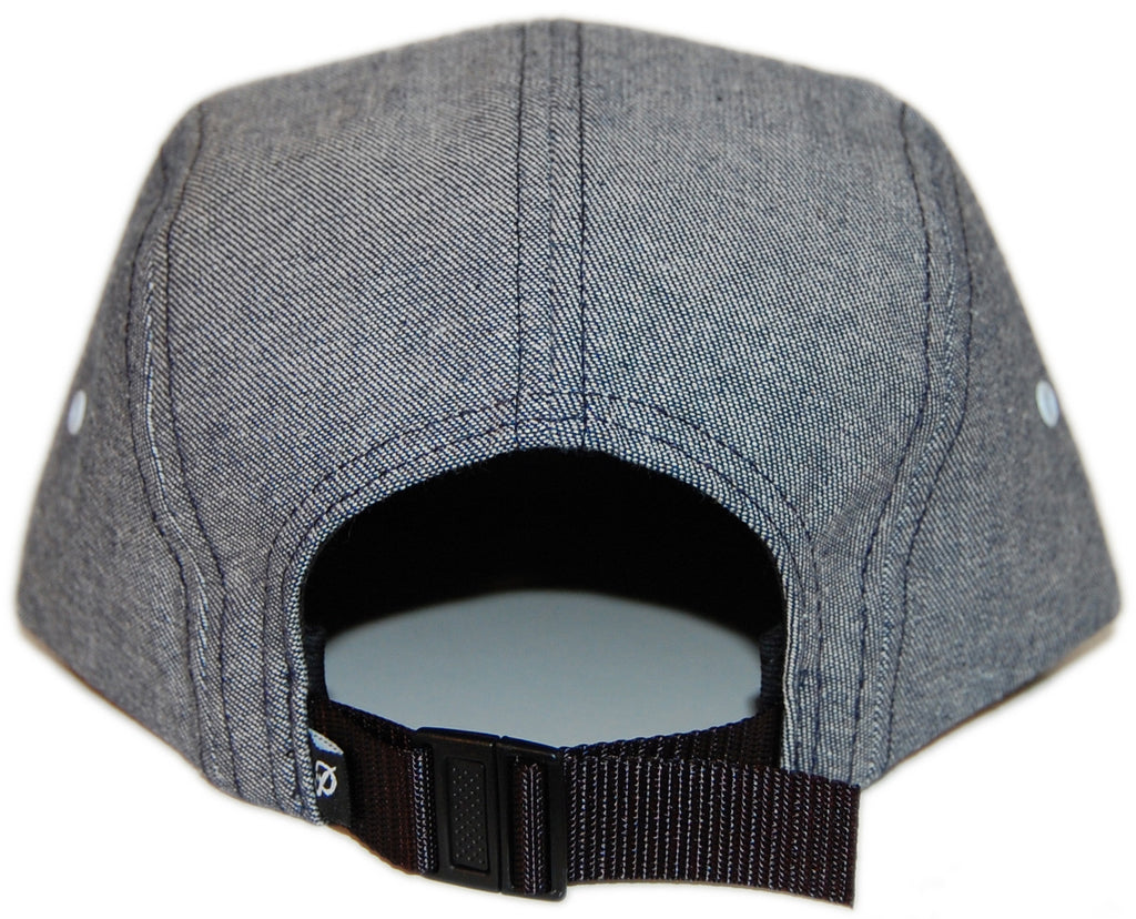 <!--2013031252-->Primitive - 'Signature Script' [(Light Blue) Five Panel Camper Hat]