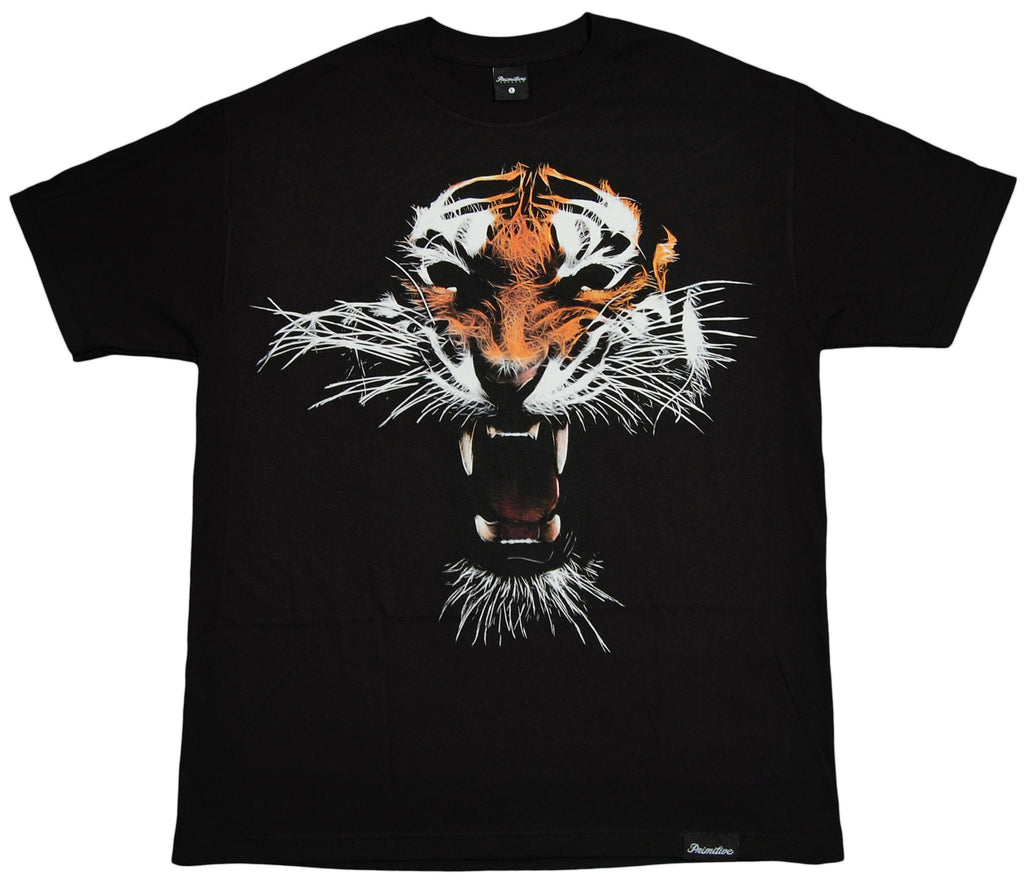 <!--2013031212-->Primitive - 'El Tigre' [(Black) T-Shirt]