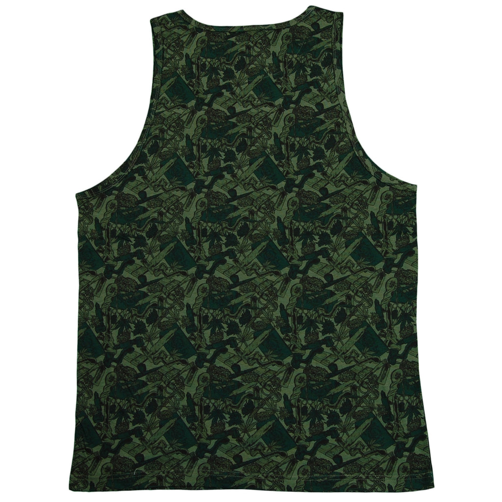 Primitive - 'Smokers Only Pocket' [(Camo) Tank Top]