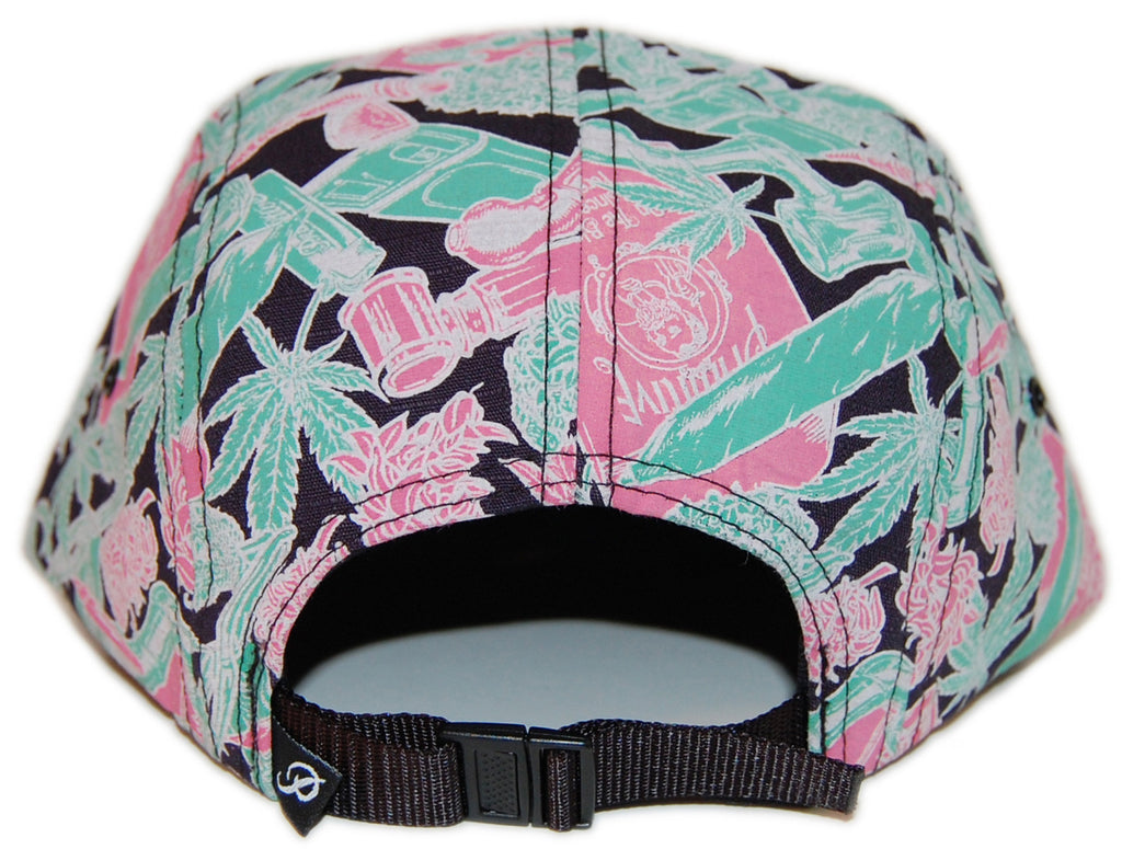 <!--020130702057870-->Primitive - 'Smokers Only' [(Pink) Five Panel Camper Hat]