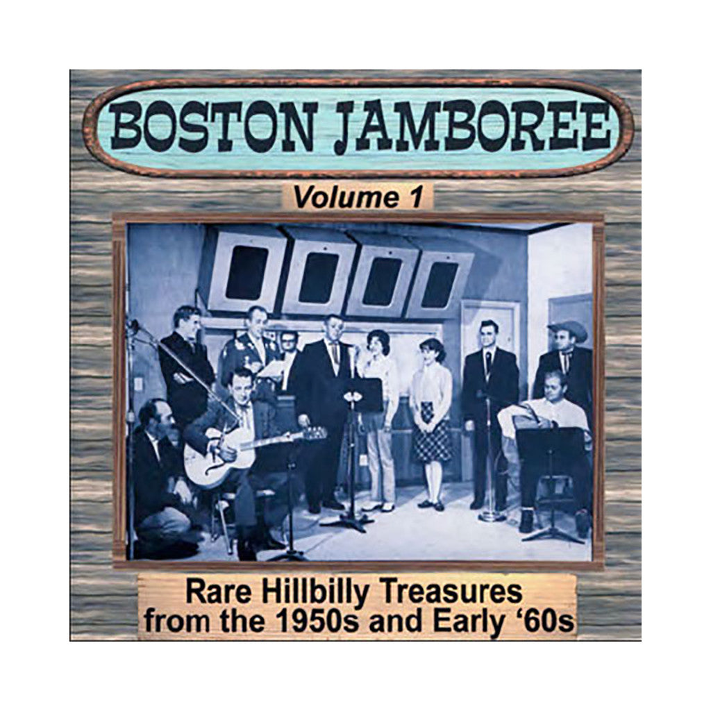 Various Artists - 'Rare Hillbilly Treasures From The 50s' [CD]