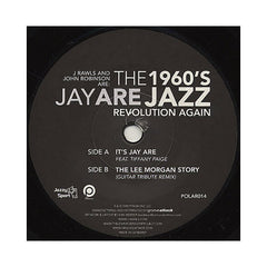 "Jay ARE - 'It's Jay ARE/ The Lee Morgan Story (Guitar Tribute Remix)' [(Black) 7"" Vinyl Single]"