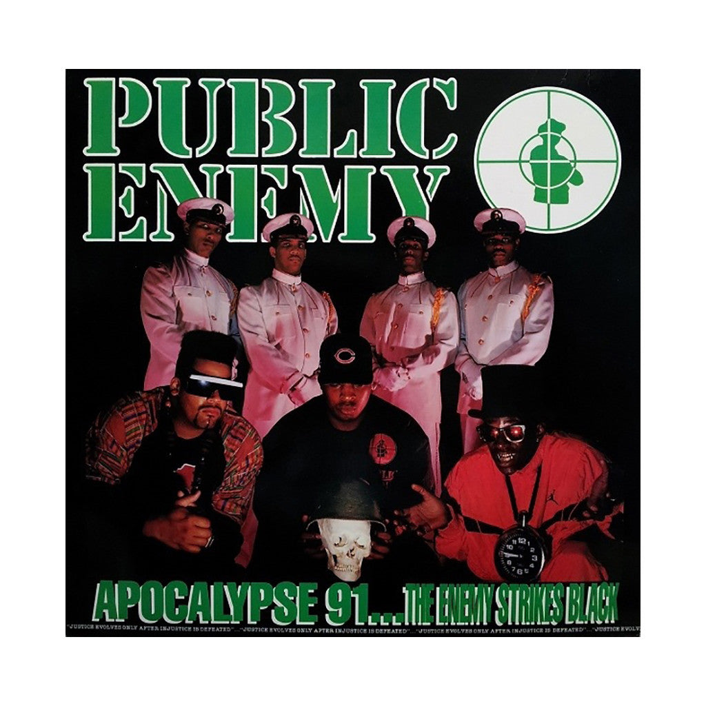 <!--119911001001634-->Public Enemy - 'Apocalypse 91... The Enemy Strikes Black' [CD]