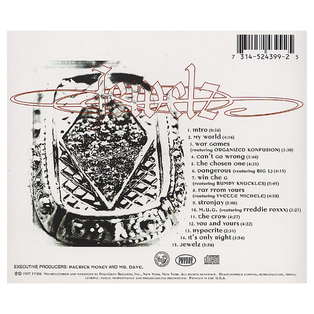 <!--019970819011787-->O.C. - 'Jewelz (Original Release)' [CD]