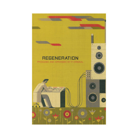 "[""P-Original - 'Regeneration' [(Clear) Cassette Tape]""]"