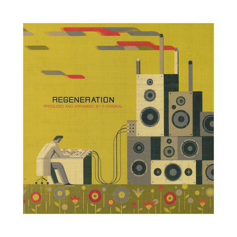 P-Original - 'Regeneration' [(Black) Vinyl LP]