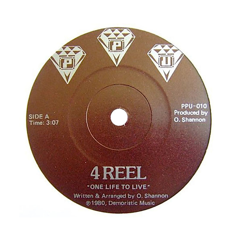 "4 Reel - 'One Life To Live/ Oh Lover' [(Black) 7"" Vinyl Single]"