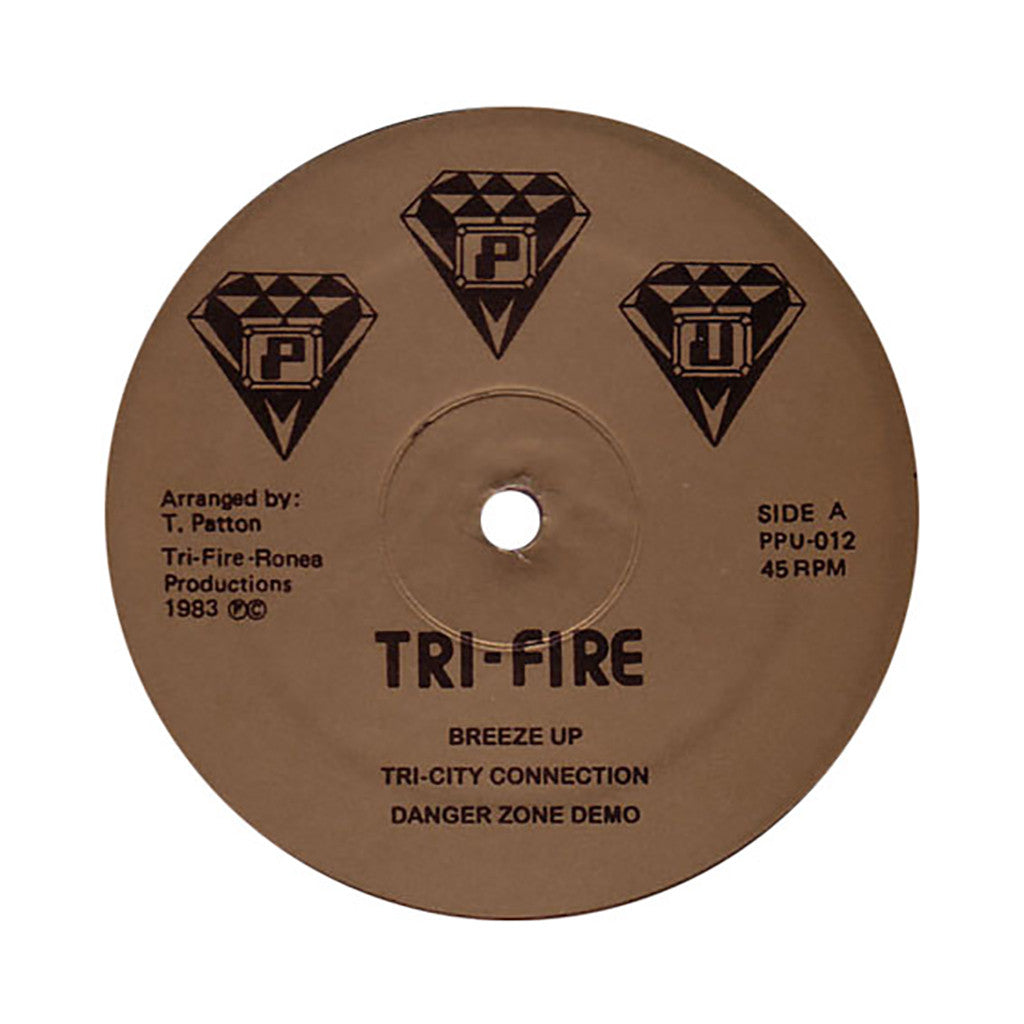 Tri-Fire - 'Tri-Fire Vol. 1' [(Black) Vinyl LP]