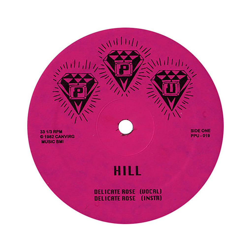 "Hill b/w Roshell Anderson - 'Delicate Rose b/w Wild Dreams' [(Black) 12"" Vinyl Single]"