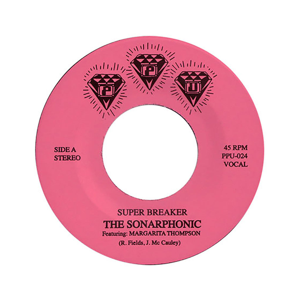 "The Sonarphonic - 'Super Breaker' [(Black) 7"" Vinyl Single]"