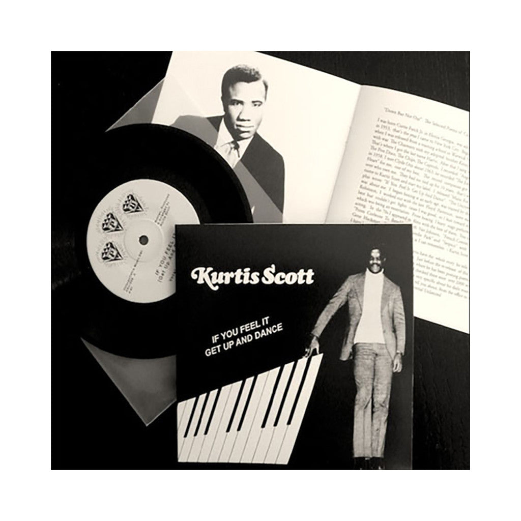 "Kurtis Scott - 'If You Feel It (Get Up And Dance)/ Uncrowned Champion' [(Black) 7"" Vinyl Single]"