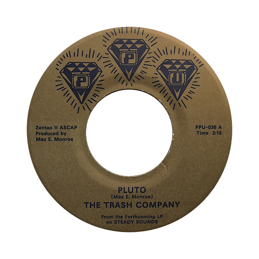"<!--020120626051133-->The Trash Company - 'Pluto/ For The Hook' [(Black) 7"" Vinyl Single]"