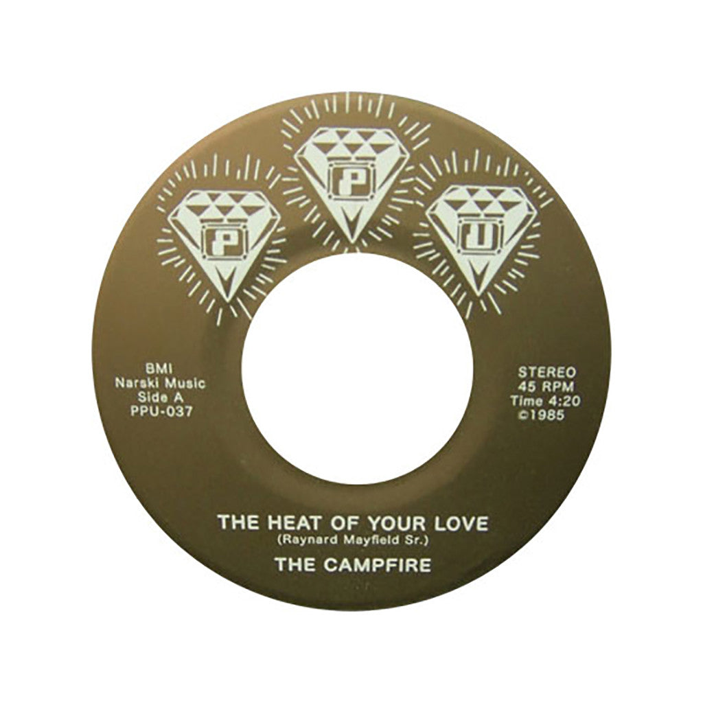 "<!--2012072441-->The Campfire - 'The Heat of Your Love' [(Black) 7"" Vinyl Single]"