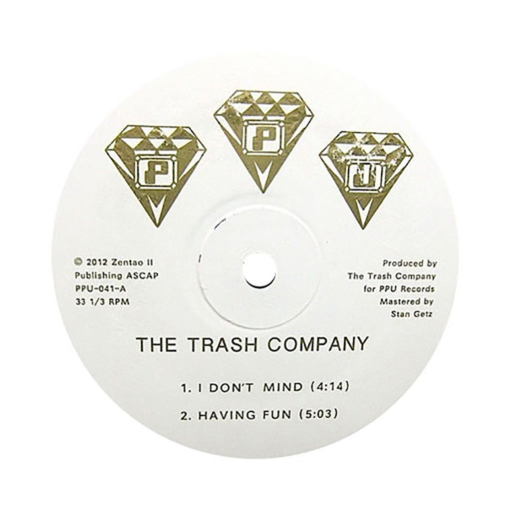 <!--2012091100-->The Trash Company - 'Having Fun' [(Black) Vinyl EP]