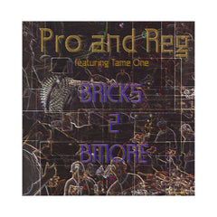 "Pro and Reg - 'Bricks 2 Bmore/ Raspy/ Old School Rules' [(Black) 12"" Vinyl Single]"