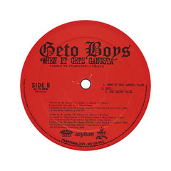"<!--020050607003293-->Geto Boys - 'G-Code/ When It Gets Gangsta/ The Secret' [(Black) 12"" Vinyl Single]"