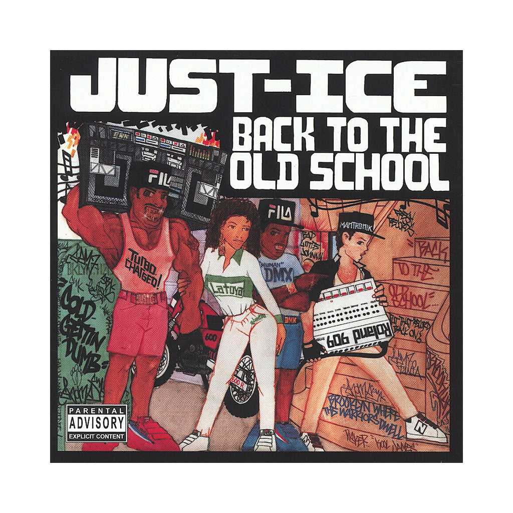 <!--019860101002742-->Just-Ice - 'Back To The Old School' [(Black) Vinyl LP]