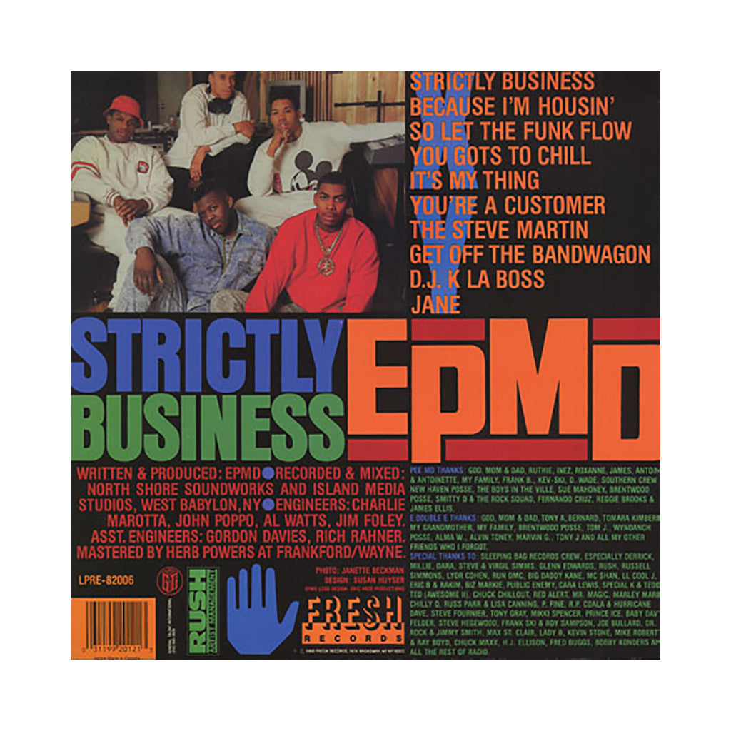<!--1988010112-->EPMD - 'Strictly Business' [(Black) Vinyl LP]
