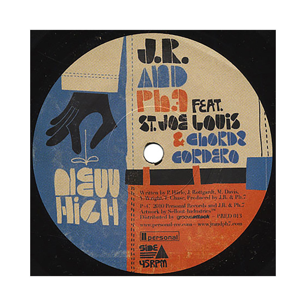 "<!--020101019002764-->JR & PH7 - 'New High/ Try' [(Black) 7"" Vinyl Single]"