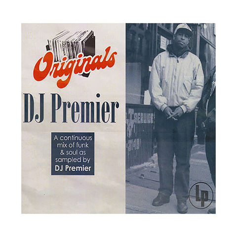 "[""Various Artists (DJ Premier of Gang Starr) - 'DJ Premier Originals: A Continuous Mix Of Funk & Soul As Sampled By DJ Premier' [CD]""]"