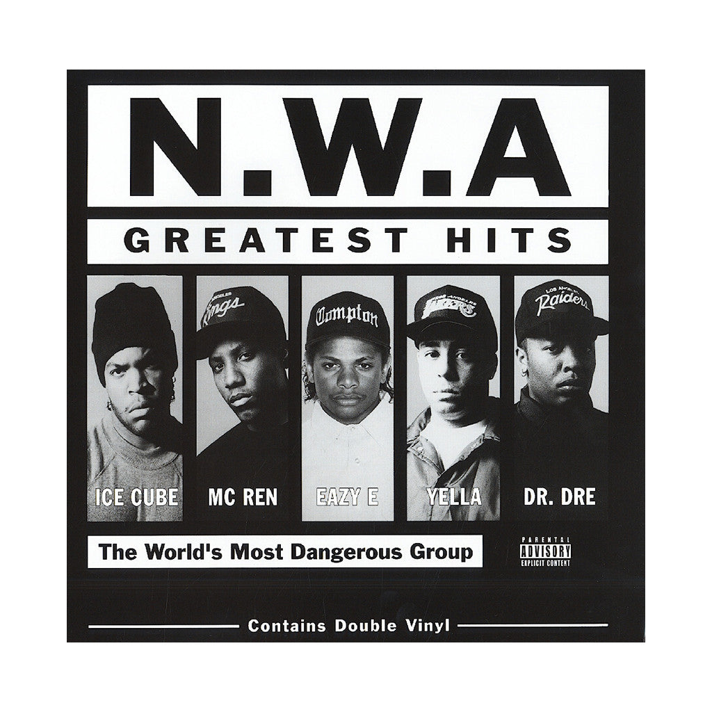 <!--120030107011820-->N.W.A. - 'Greatest Hits' [(Black) Vinyl [2LP]]