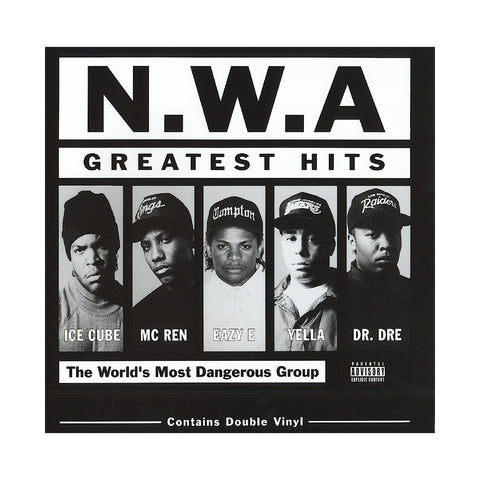 "[""N.W.A. - 'Greatest Hits' [(Black) Vinyl [2LP]]""]"