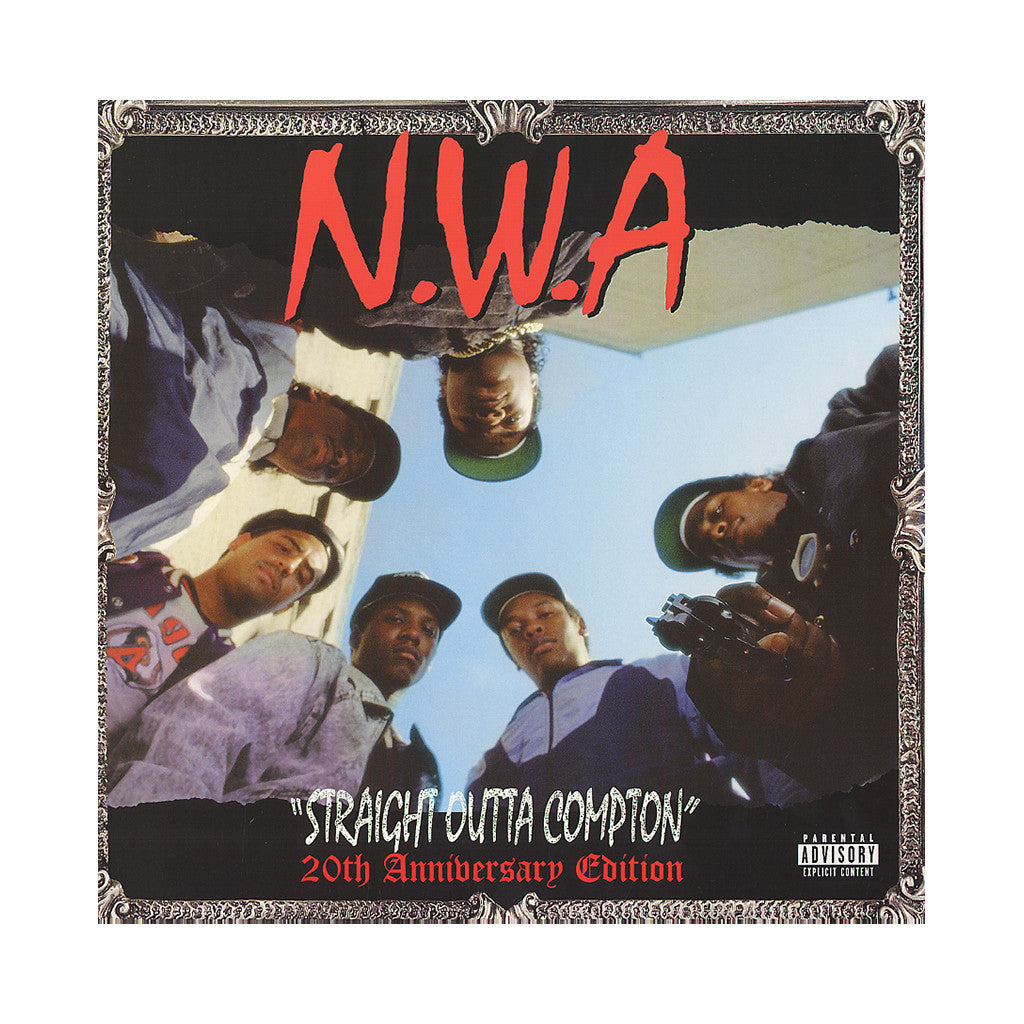 <!--120071204001992-->N.W.A. - 'Straight Outta Compton: 20th Anniversary Edition' [(Black) Vinyl [2LP]]