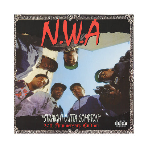 "[""N.W.A. - 'Straight Outta Compton: 20th Anniversary Edition' [(Black) Vinyl [2LP]]""]"