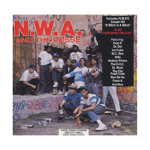 "[""N.W.A. - 'N.W.A. And The Posse' [CD]""]"