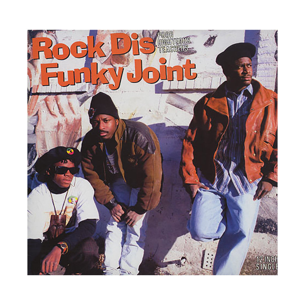 "Poor Righteous Teachers - 'Rock Dis Funky Joint (Remix)/ Rock Dis Funky Joint' [(Black) 12"" Vinyl Single]"