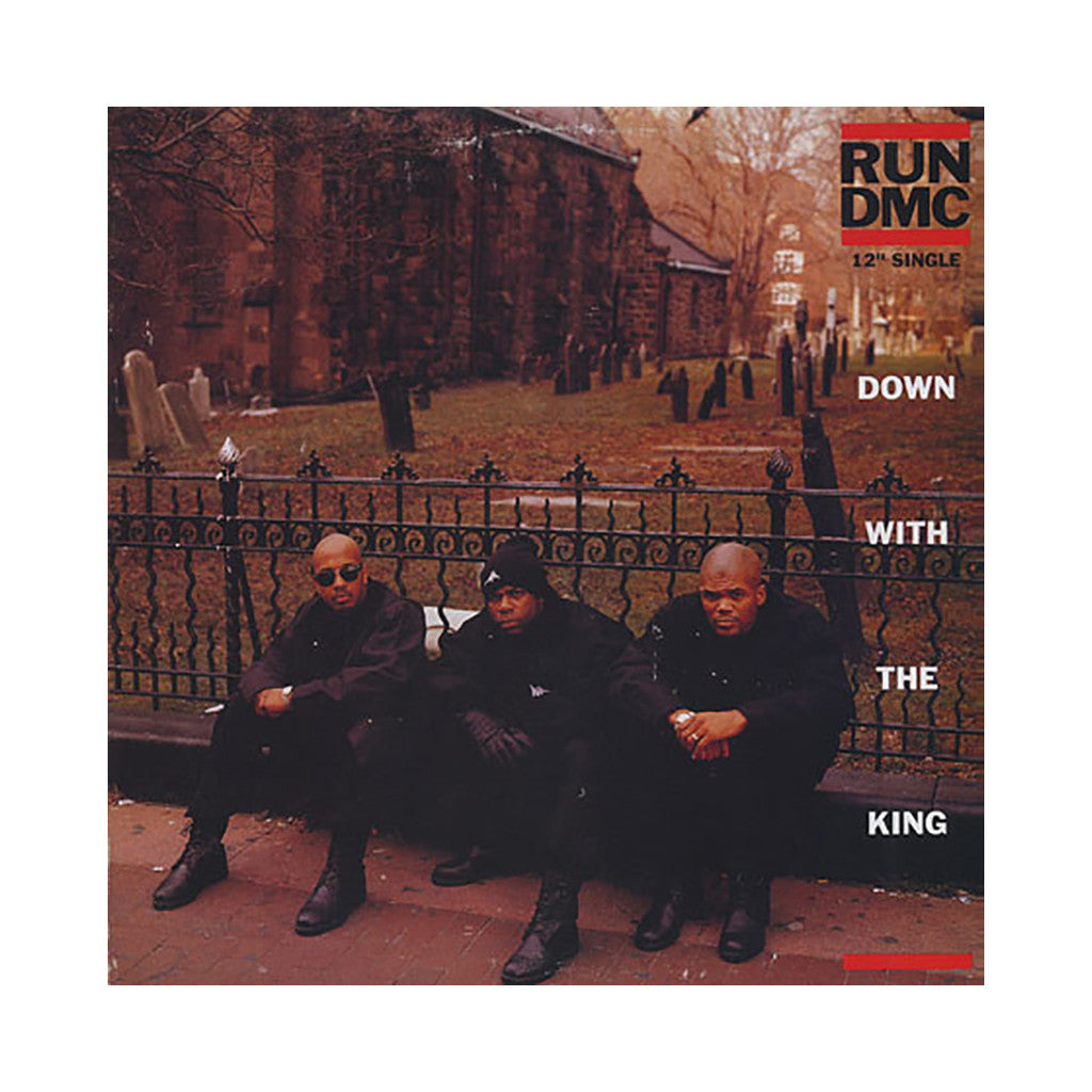 "Run D.M.C. - 'Down With The King' [(Black) 12"" Vinyl Single]"