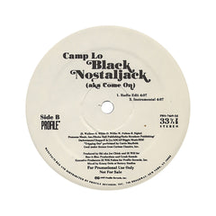 "<!--019970101004301-->Camp Lo - 'Black Nostaljack (aka Come On) (Kid Capri Mix Tape Remix)/ Black Nostaljack (aka Come On)' [(Black) 12"" Vinyl Single]"