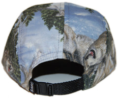 <!--2012103045-->Proverse - 'Dances With Wolves' [(Light Blue) Five Panel Camper Hat]