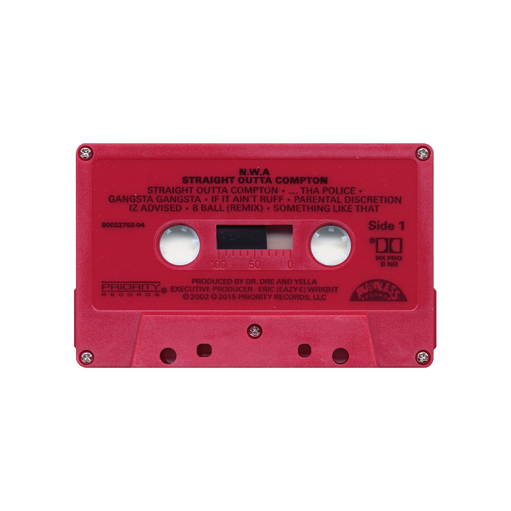N.W.A. - Straight Outta Compton - Cassette - producers ...