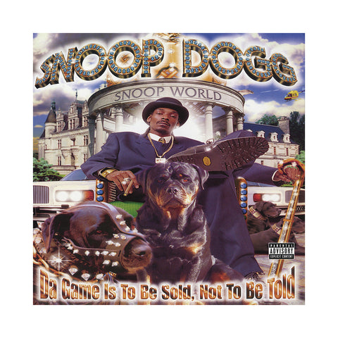 "[""Snoop Dogg - 'Da Game Is To Be Sold, Not To Be Told (Re-Issue)' [(Black) Vinyl [2LP]]""]"