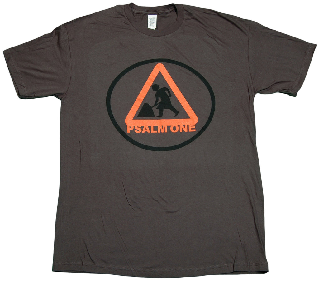 <!--2011112242-->Psalm One - 'At Work (Get In The Van Vol. 3 Pack)' [(Dark Gray) T-Shirt]