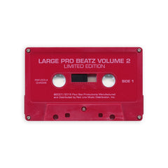 Large Professor - 'Beatz Vol. 2' [(Red) Cassette Tape]
