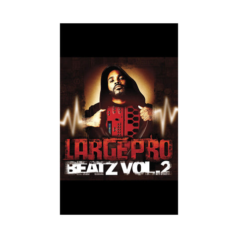 Large Professor - 'Beatz Vol. 2' [(Chrome Red Tint) Cassette Tape]
